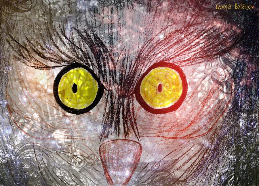 Iyami Osorongá. Desenho de Rosea Bellator.
