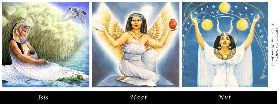ísis ísis  ísis  ísis  ísis  ísis  pequenos rituais das deusas ísis, maat e nut  imagem de hrana janto - oráculo das deusas